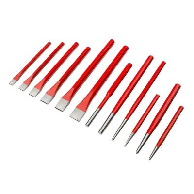 Cold Chisel and Punch Set (12-Piece)