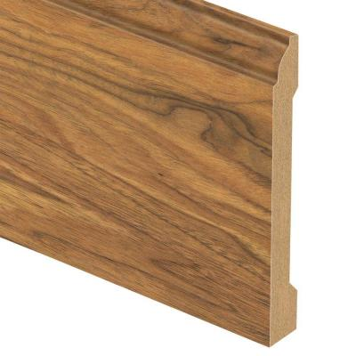 Alexandria Walnut 9/16 in. Thick x 5-1/4 in. Wide x 94 in. Length Laminate Base Molding Product Photo