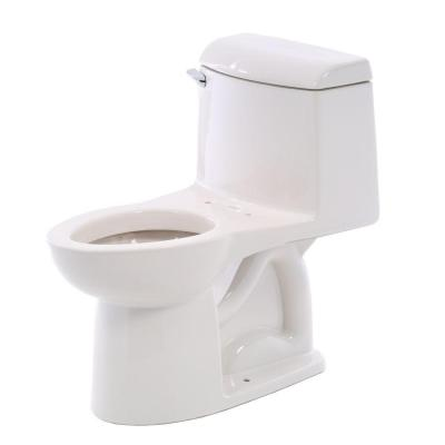 American Standard Champion 4 1-Piece 1.6 GPF Single Flush Elongated Toilet in White