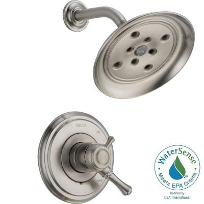 Cassidy 1-Handle Shower Only Faucet Trim Kit in Stainless (Valve Not