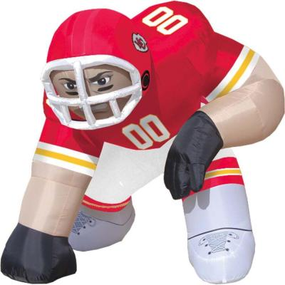 null 5 ft. Inflatable NFL Kansas City Chiefs Player Bubba - $99 VALUE