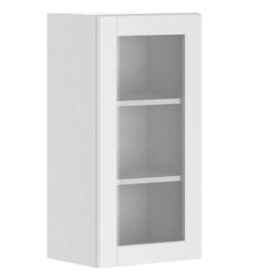 Fabritec 15x30x12 5 In Amsterdam Wall Cabinet In White Melamine And Glass Do