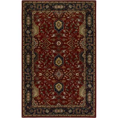 John Red 8 ft. x 11 ft. Area Rug