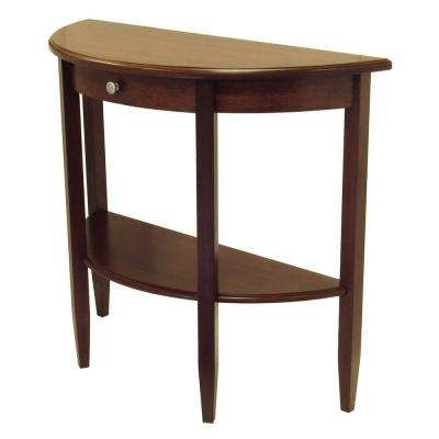 Winsome Wood Concord Walnut Console Table