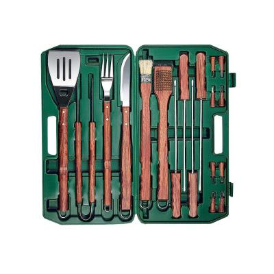 Picnic Time 18-Piece Grill Tool Set with Case