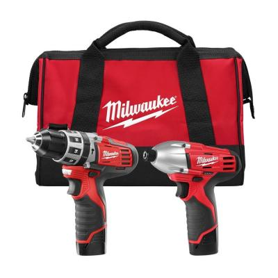 M12 12-Volt Lithium-Ion Cordless Hammer Drill/Impact Driver Combo Kit (2-Tool)