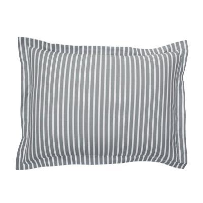 Aiden Stripe 200-Thread Count Cotton Percale Sham