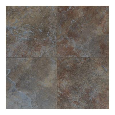 Continental Slate Tuscan Blue 18 in. x 18 in. Porcelain Floor
