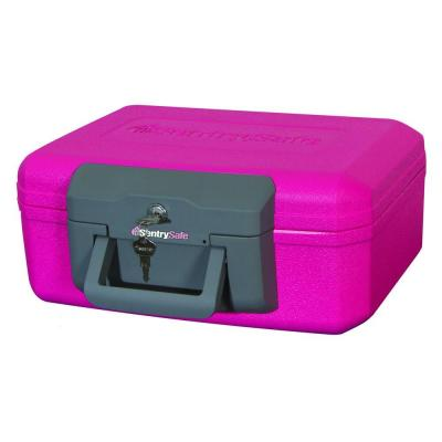 null 0.18 in. Breast Cancer Awareness Fire Safe Chest-DISCONTINUED