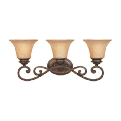 Designers Fountain Vienna 3-Light Forged Sienna Wall Light
