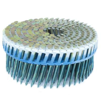 2 in. x 0.092 in. 15-Degree Smooth Galvanized Plastic Sheet Coil