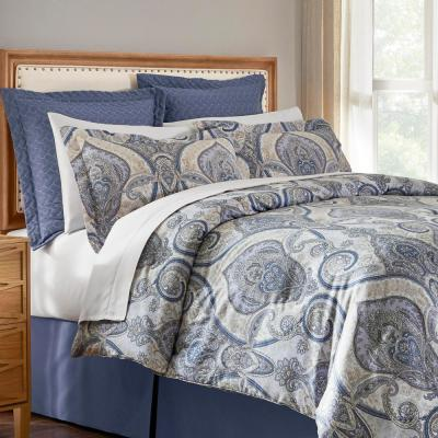 Kayden 6-Piece Damask Comforter Set