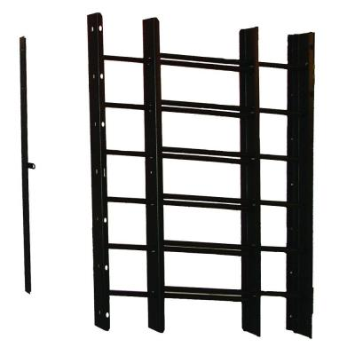 Pp-Spag 6-Bar Window Guard in Black Product Photo