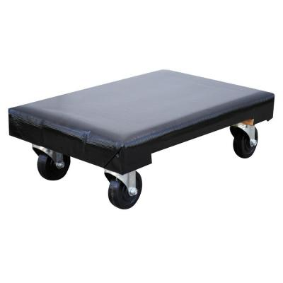 24 in. x 16 in. 1,200 lb. Vinyl Covered Hardwood Dolly Product Photo