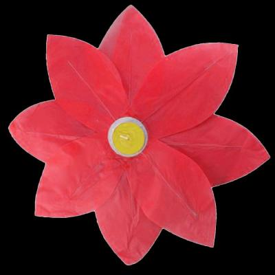 Red Floating Lotus Lanterns (6-Count)