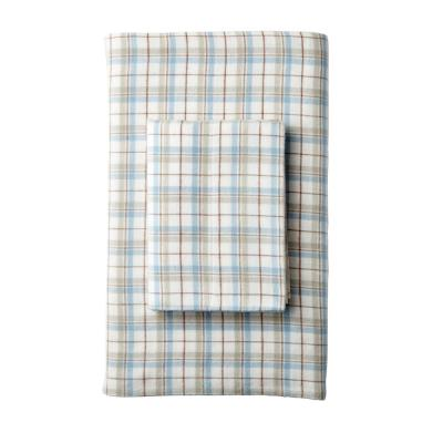 Frasier Yarn Dyed Plaid Organic Flannel Pillowcase (Set of 2)
