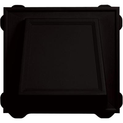 6 in. Hooded Siding Vent #002-Black Product Photo