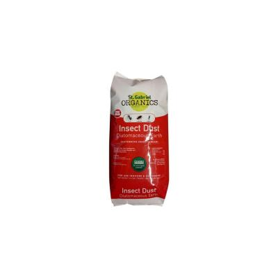 St. Gabriel ORGANICS Insect Dust 4.4 lb. Food Grade Diatomaceous Earth Indoor/Outdoor Crawling Insect Killer
