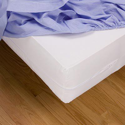 Evolon Bed Bug, Dust Mite and Allergen Proof Allergy Mattress Protector and Zip Cover Encasement
