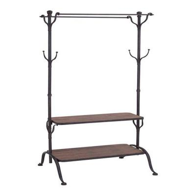 Home Decorators Collection Adeline Black 69 in. H Clothes Rack