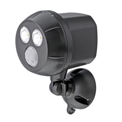 Outdoor Brown Weatherproof Wireless Battery Powered LED Ultra Bright Spot Light