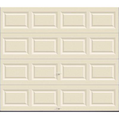 Clopay Value Series 8 ft. x 7 ft. Non-Insulated Solid Almond Garage Door