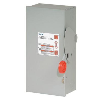 Eaton 30 Amp 3 Pole Fusible NEMA 3R General Duty Safety Switch