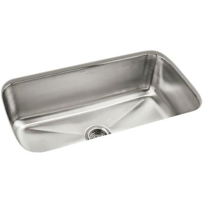 STERLING Carthage Undermount Stainless Steel 32 in. Single Basin Kitchen Sink