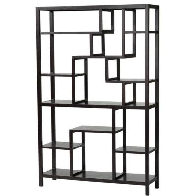 62 in. H x 40 in. W Parsons Espresso Display Shelf Product Photo