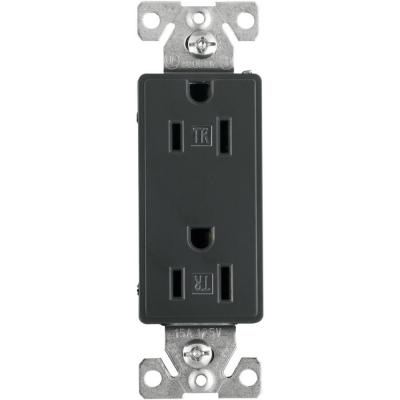 Garages amp outdoor storage storage amp organization the home depot - Eaton Aspire 15 Amp Tamper Resistant Duplex Receptacle