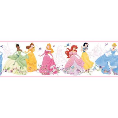 9 in. Dancing Princesses Border Product Photo