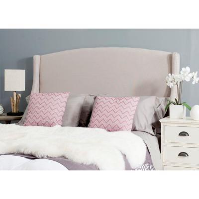 Austin Queen Headboard in Taupe
