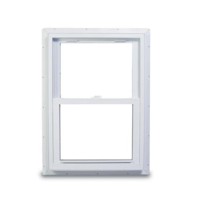 American Craftsman 33.75 in. x 40.75 in. 70 Series Double Hung Fin Vinyl Window - White