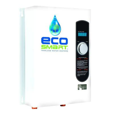 EcoSmart 18 kW Self-Modulating 3.5 GPM Electric Tankless Water Heater