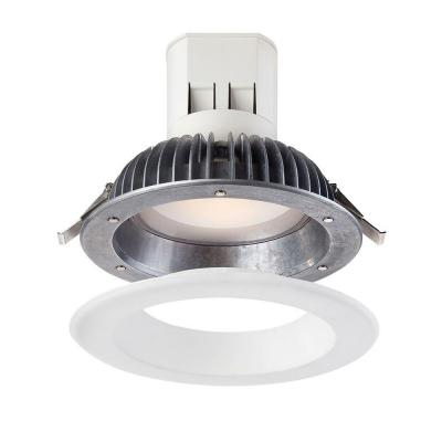 Easy Up 6 in. 3000K Warm White 93 CRI LED High Ceiling Recessed Light with J-Box (No Can Needed) Product Photo