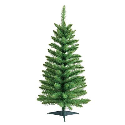4.5 ft. Green Pine Artificial Christmas Tree Product Photo