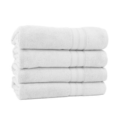 Spunloft 4-Piece Solid Cotton Bath Sheet Set