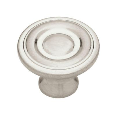 1 1 4 in ring round cabinet hardware knob - Home depot kitchen cabinet pulls ...