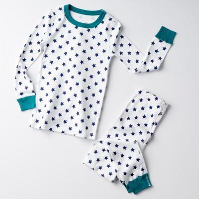 Family Snug-Fit Company Organic Cotton™ Kid's Pajama Set in Star