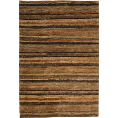Anahola Tan 5 ft. x 8 ft. Area Rug
