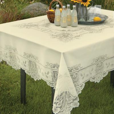 Heirloom Rectangle Polyester Tablecloth