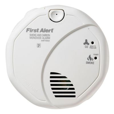 First Alert Battery Operated Smoke and Carbon Monoxide Alarm with Voice Alert
