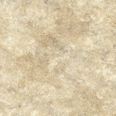 Neutral Limestone Slab Vinyl Sheet - 6 in. x 9 in. Take Home Sample Product Photo