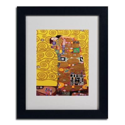 null 11 in. x 14 in. Fulfillment Black Framed Matted Art