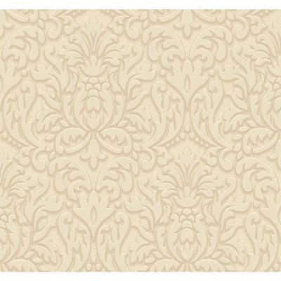 60.75 sq. ft. Dimensional Effects Adele Wallpaper