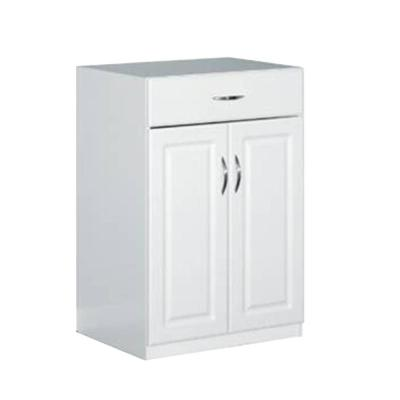 ClosetMaid 24 in. Freestanding Raised Panel Base Cabinet with 1-Drawer and 2-Door