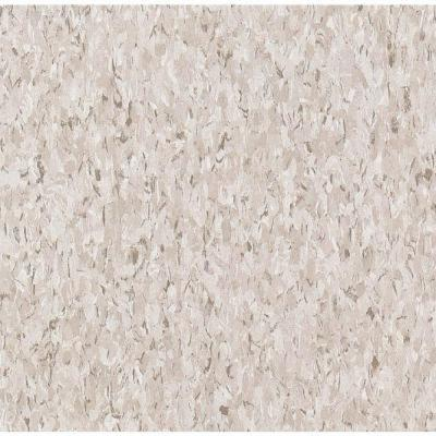 Imperial Texture VCT Taupe Standard Excelon Commercial Vinyl Tile - 6 in. x 6 in. Take Home Sample Product Photo