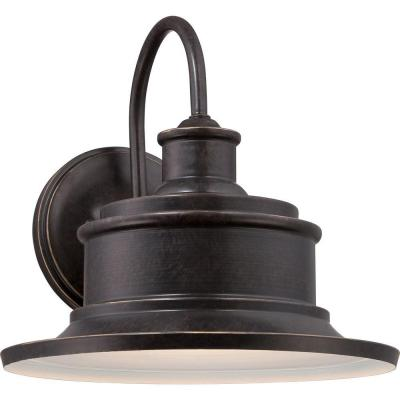 Home Decorators Collection Seaford Imperial Bronze Outdoor Wall Sconce