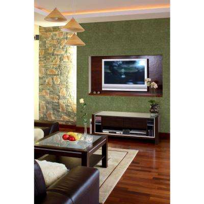 QuietWall 108 sq. ft. Ivy Acoustical Noise Control Textile Wall Covering and Home Theater Acoustic Sound Proofing