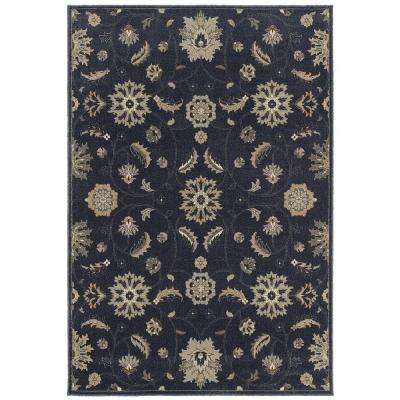 Isabella Indigo 7 ft. 10 in. x 10 ft. Area Rug